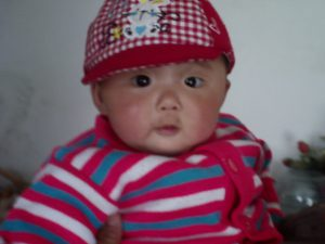 "This baby girl from rural China was saved from abandonment by WRWF's ""Save a Girl"" Campaign."