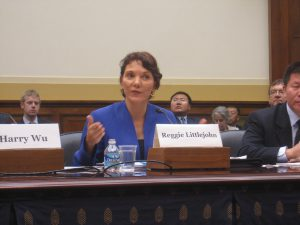 Reggie Littlejohn testifies at the United States Congress, concerning China's One Child Policy