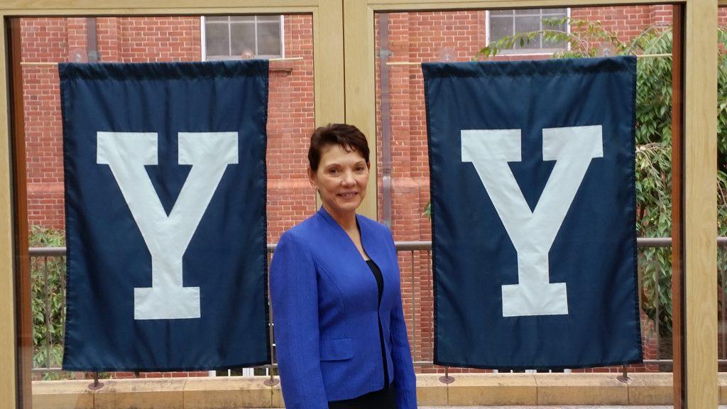 Reggie Littlejohn at Yale, September 2016