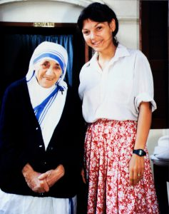 While a student at Yale Law School, Reggie had the privilege of working with Saint Mother Teresa in Calcutta.