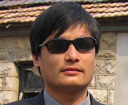 Blind Activist Chen Guangcheng